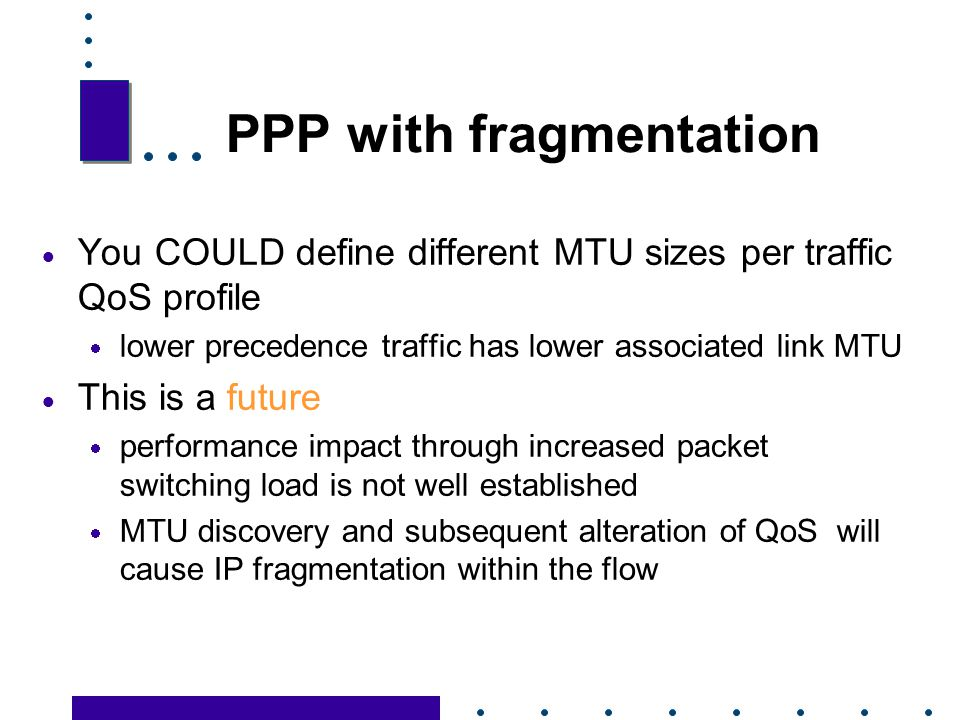 PPP with fragmentation
