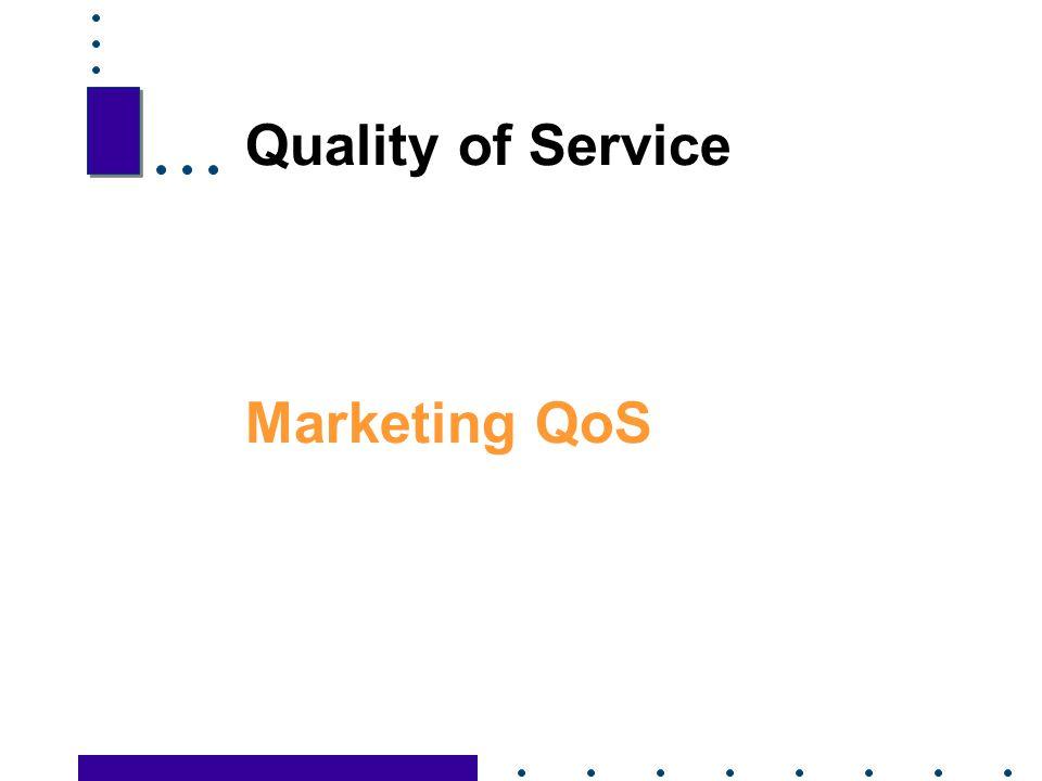 Quality of Service Marketing QoS