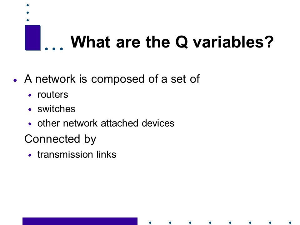 What are the Q variables