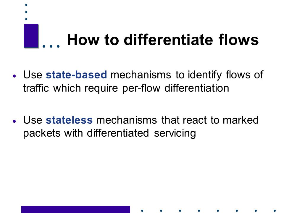 How to differentiate flows