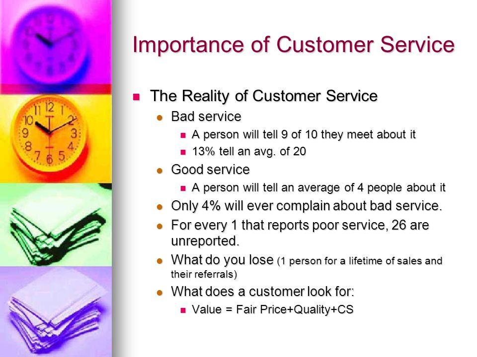 Essay On The Importance Of Customer Service Customer Service Essay