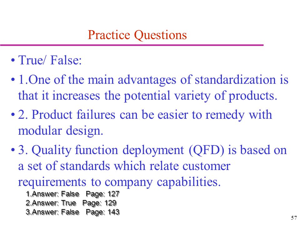 2. Product failures can be easier to remedy with modular design.