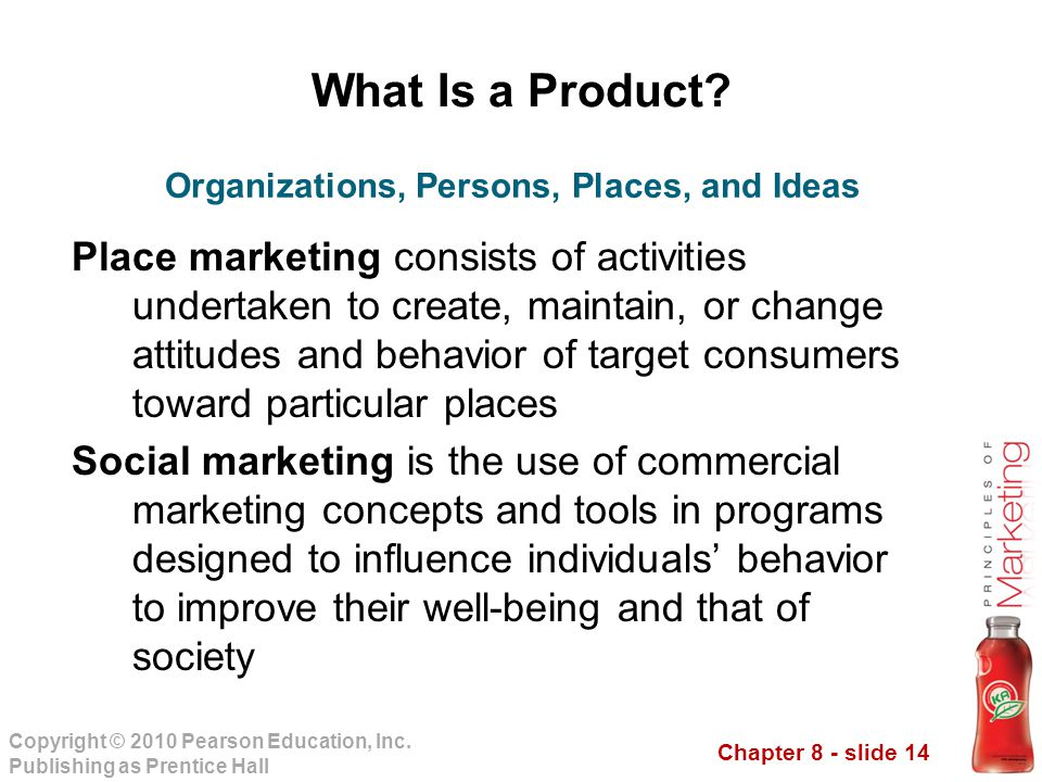 Organizations, Persons, Places, and Ideas