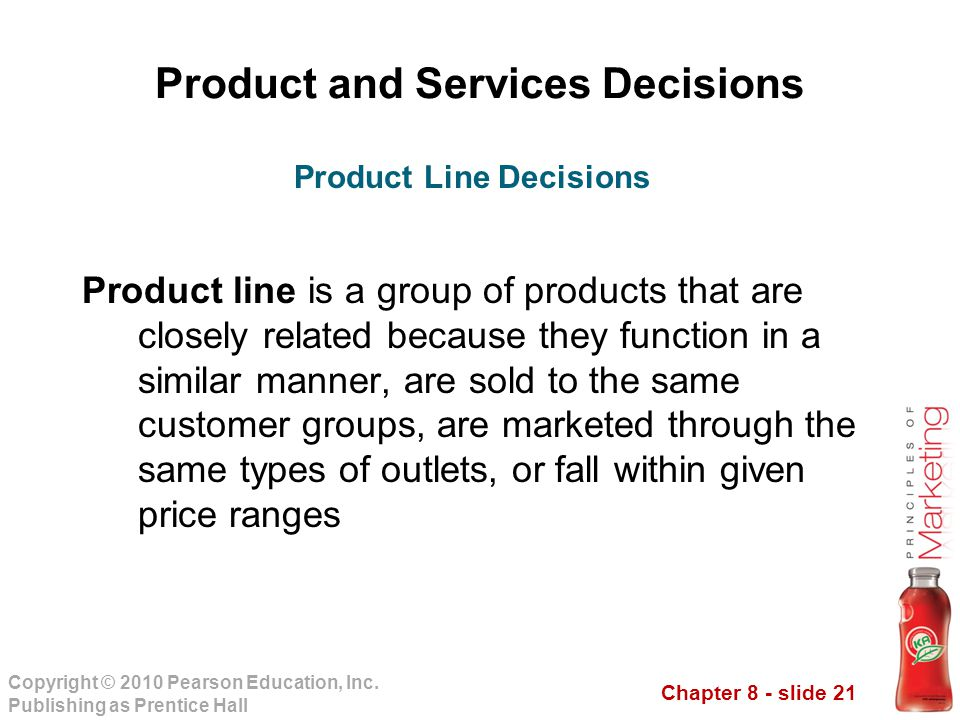 Product and Services Decisions