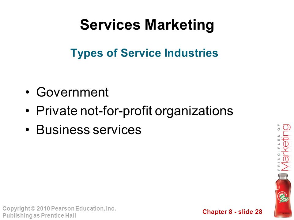 Types of Service Industries