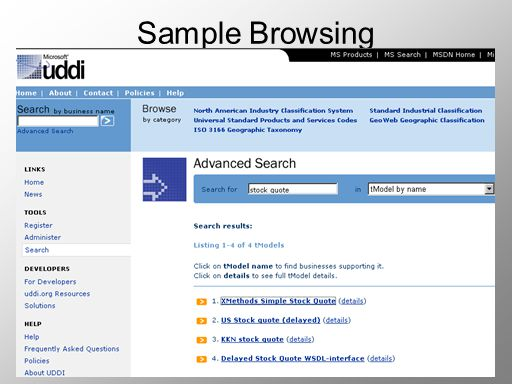 Sample Browsing