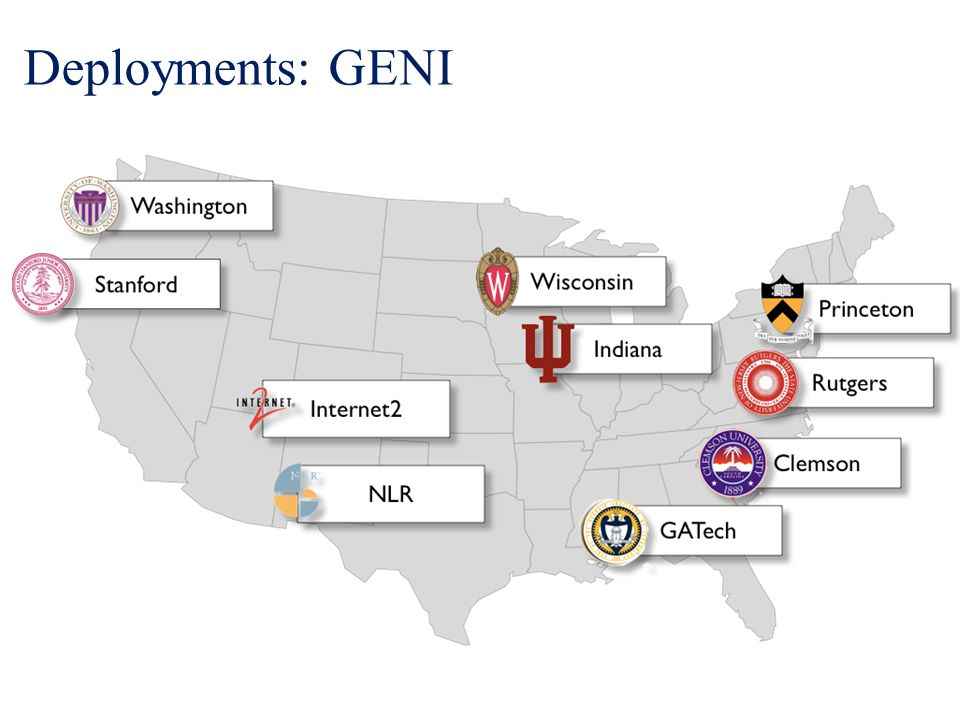 Deployments: GENI