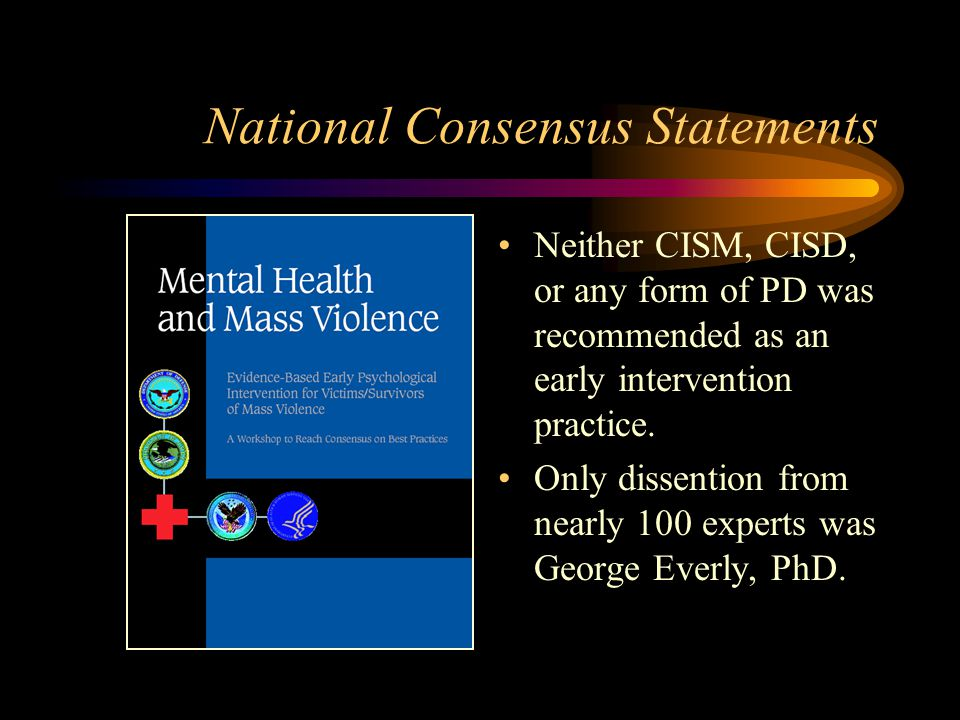 National Consensus Statements