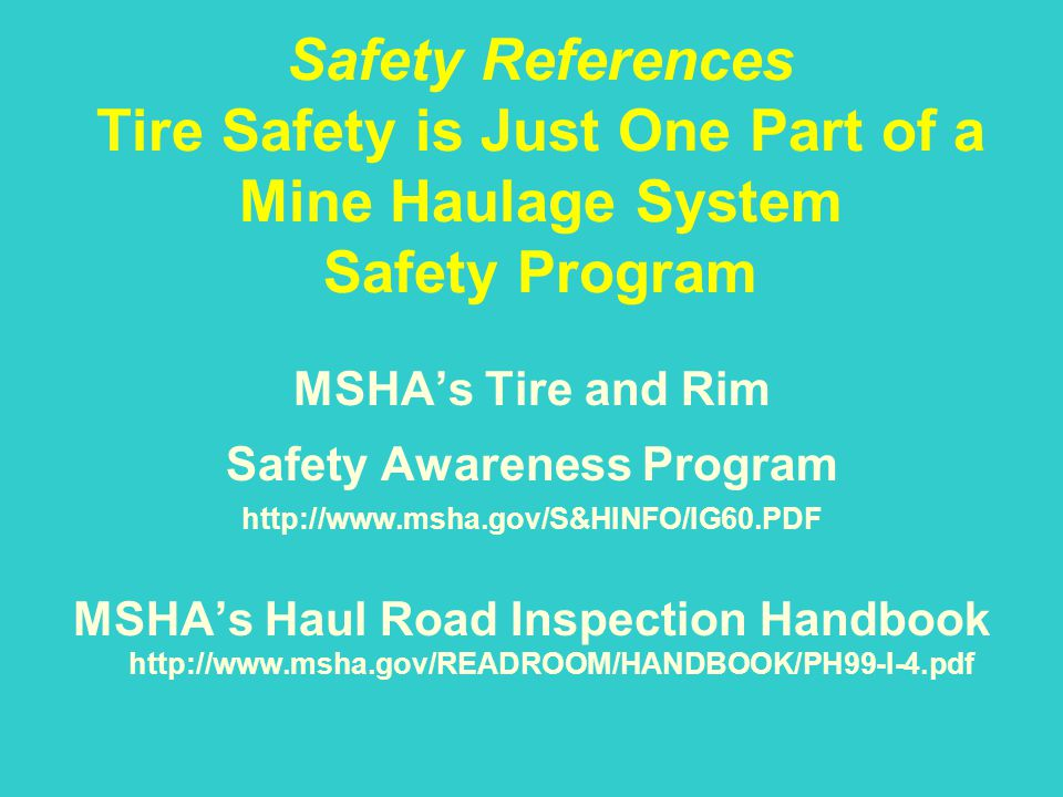 Safety Awareness Program