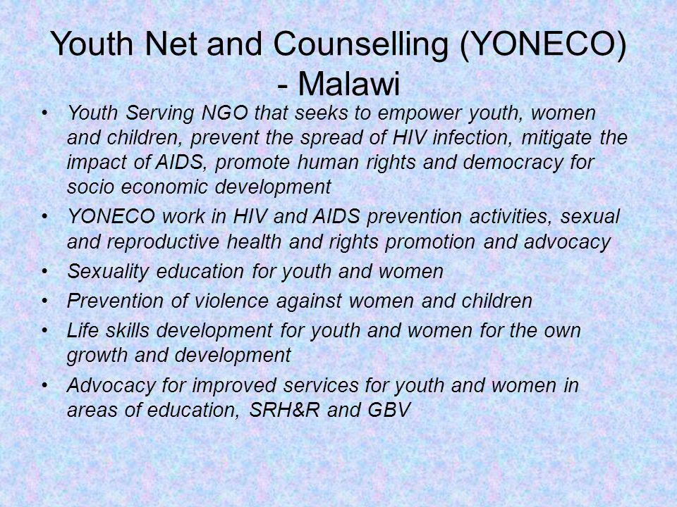 Youth Net and Counselling (YONECO) - Malawi