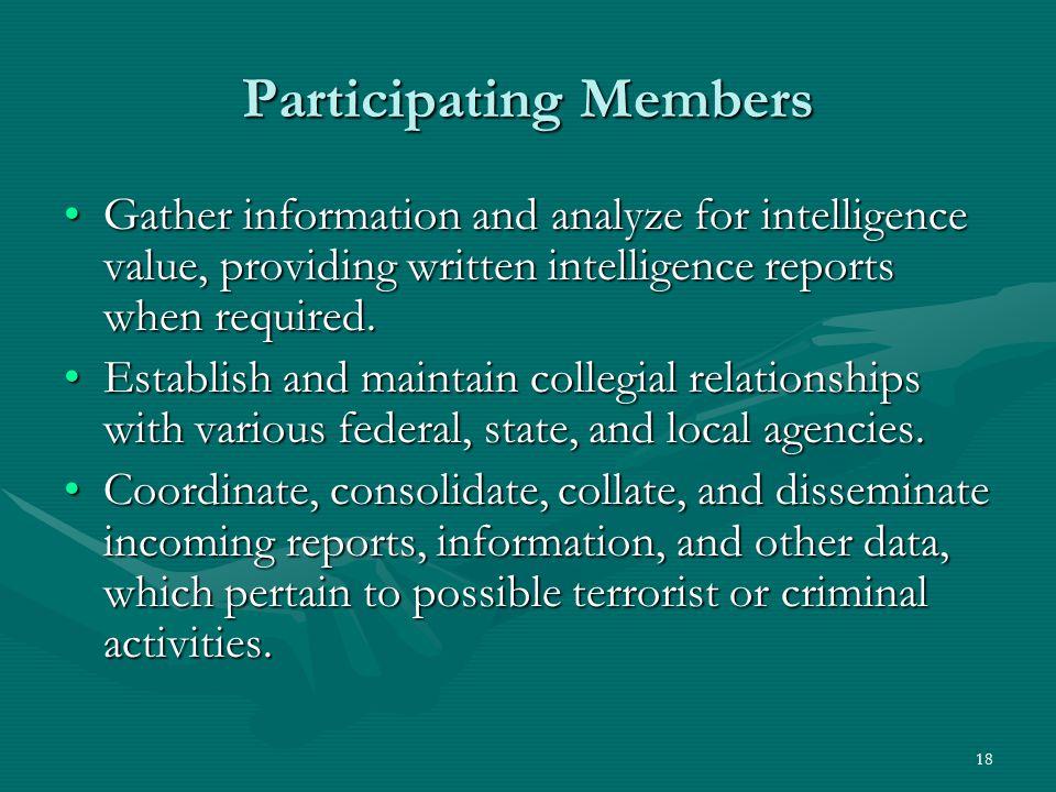 Participating Members