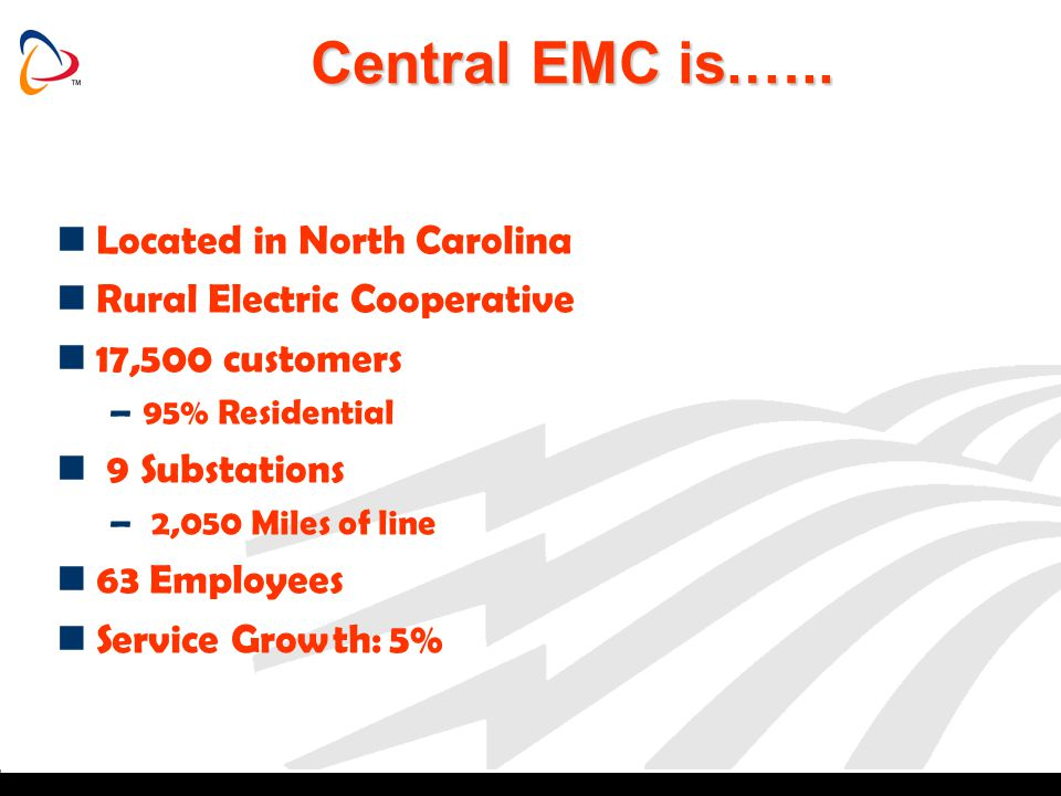 Central EMC is.….. Located in North Carolina