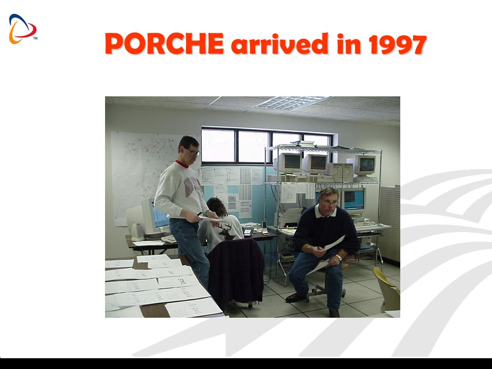 PORCHE arrived in 1997