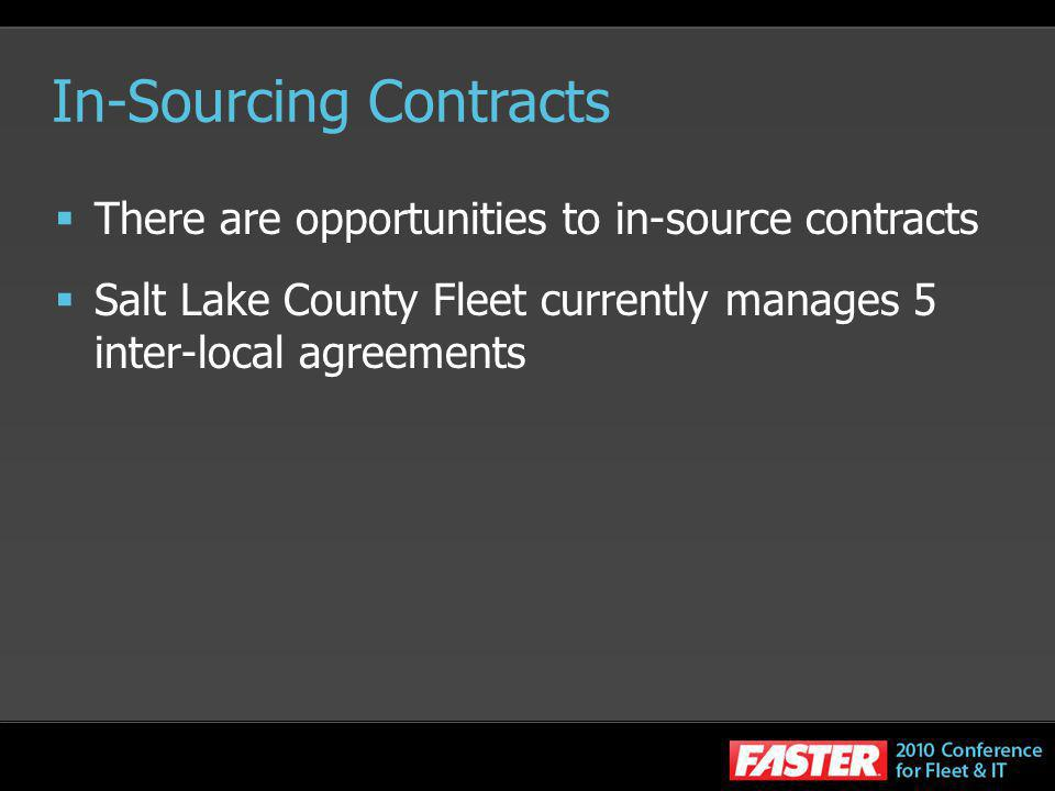 In-Sourcing Contracts