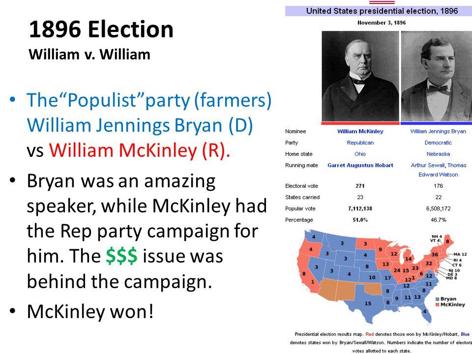 1896 Election William v. William