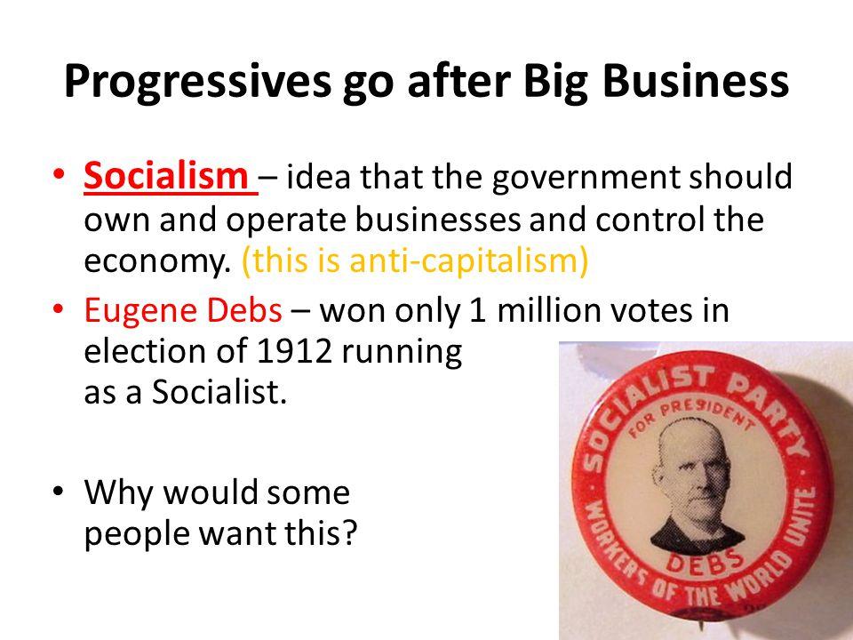 Progressives go after Big Business