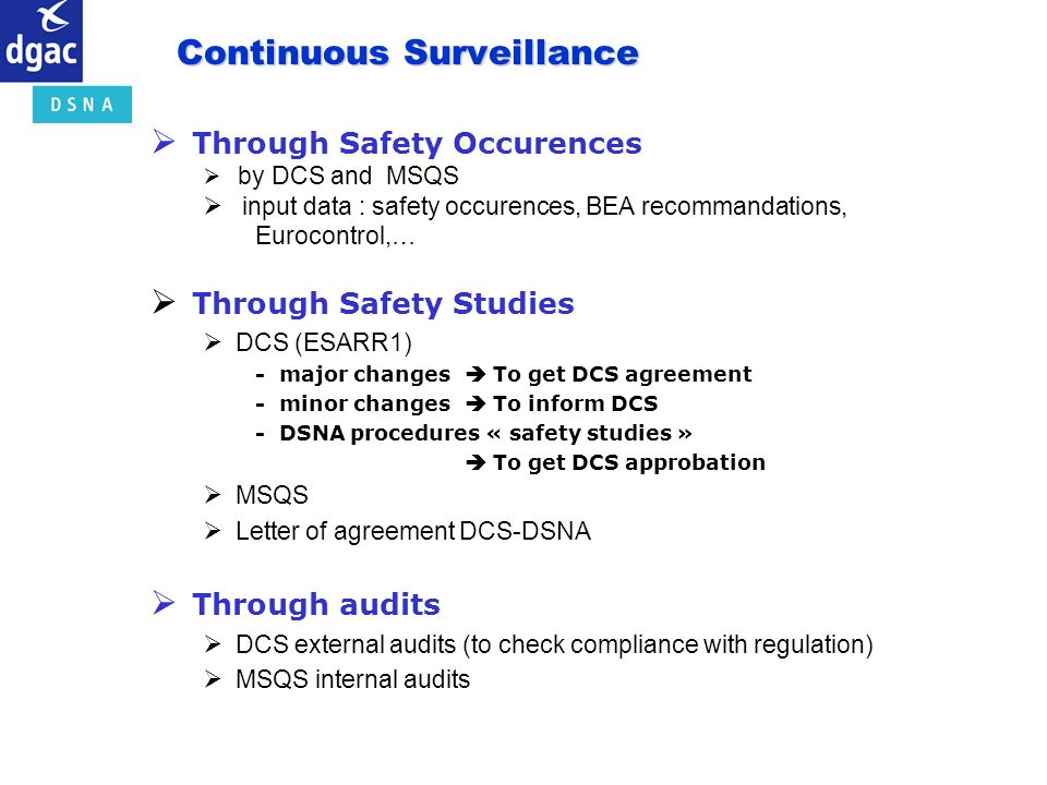 Continuous Surveillance