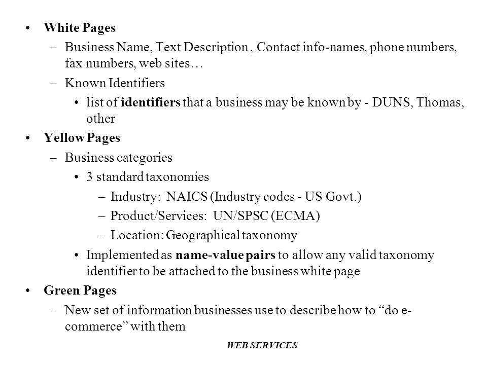 Industry: NAICS (Industry codes - US Govt.)