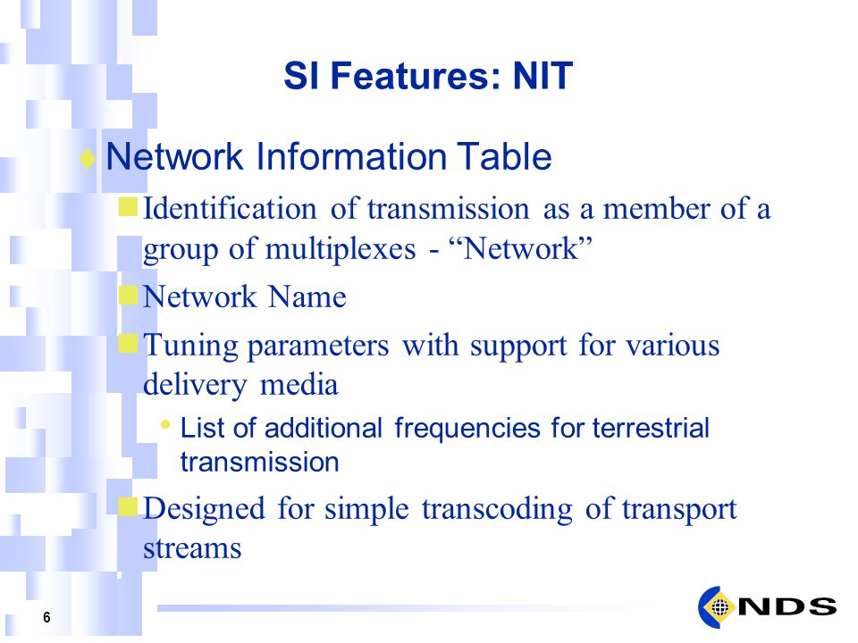 Network Information Table