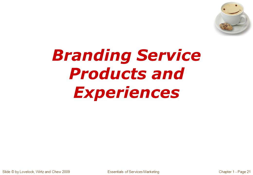Branding Service Products and Experiences