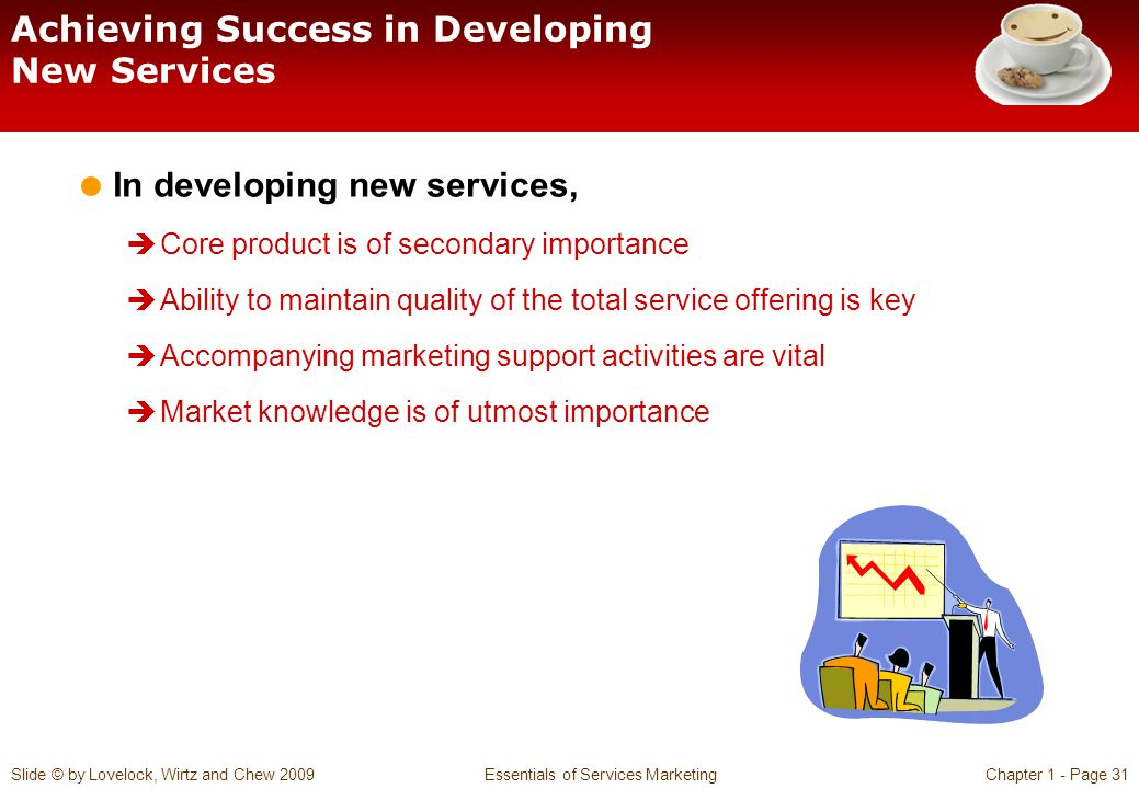 Achieving Success in Developing New Services