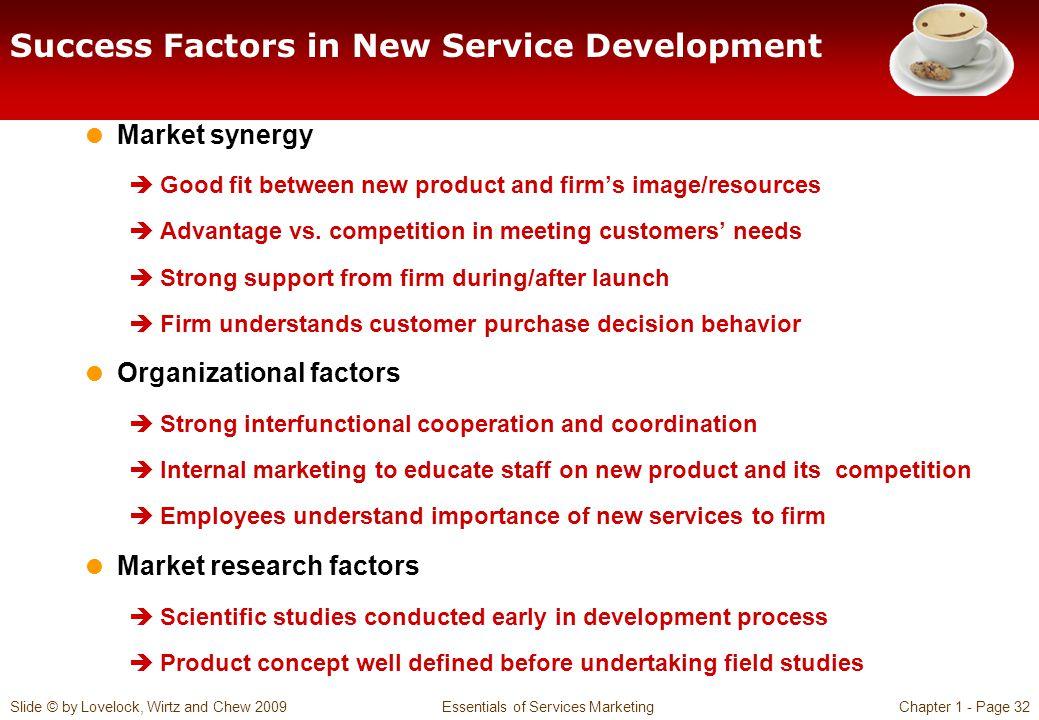 Success Factors in New Service Development