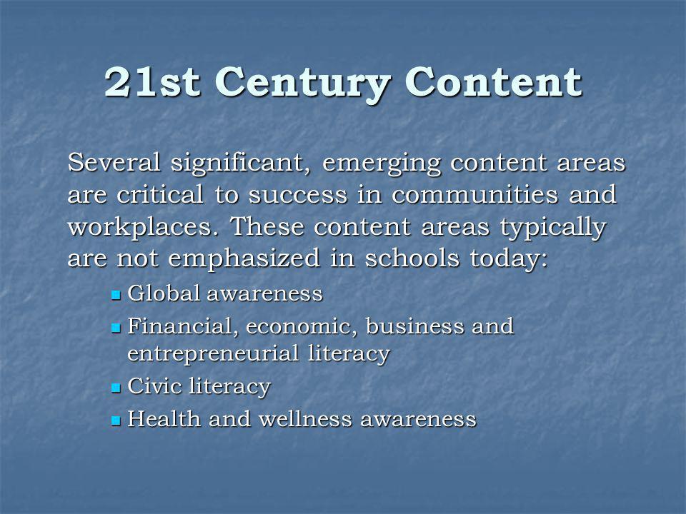 21st Century Content
