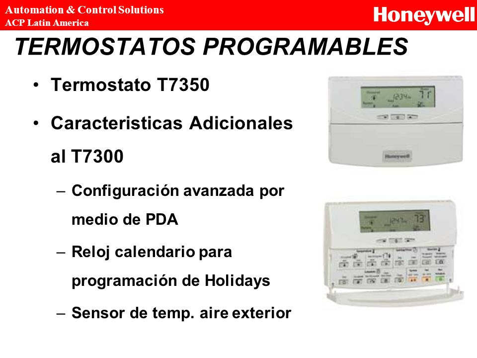 TERMOSTATOS PROGRAMABLES