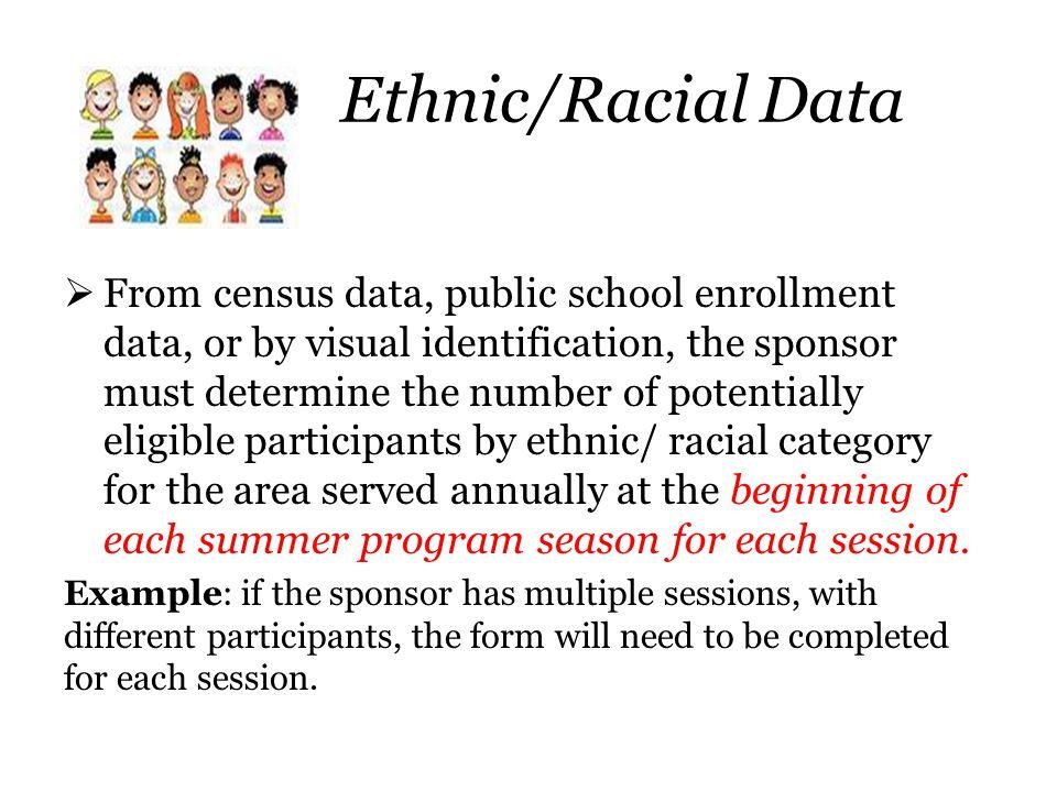 Ethnic/Racial Data