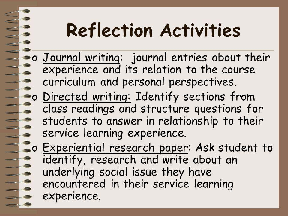 reflective writing for dissertation Great collection of paper writing guides and free samples ask our experts to get writing help submit your essay for analysis.