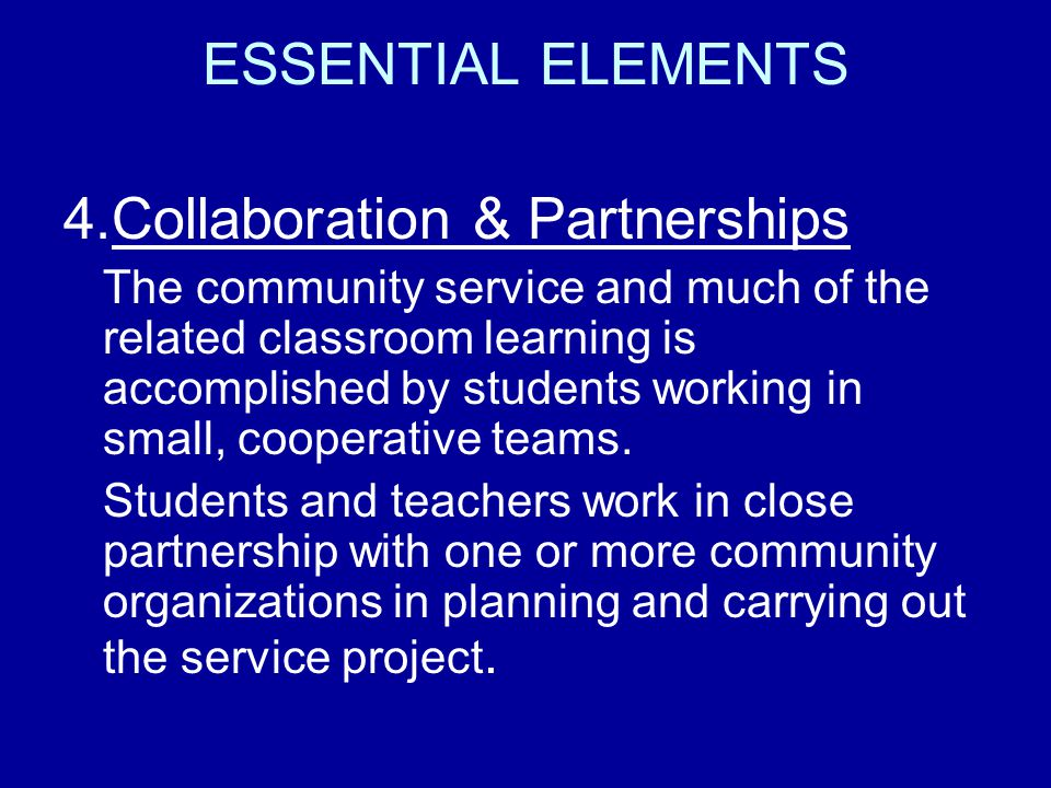 4.Collaboration & Partnerships