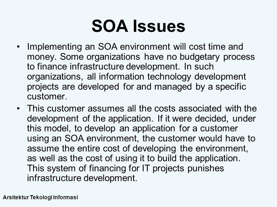 SOA Issues