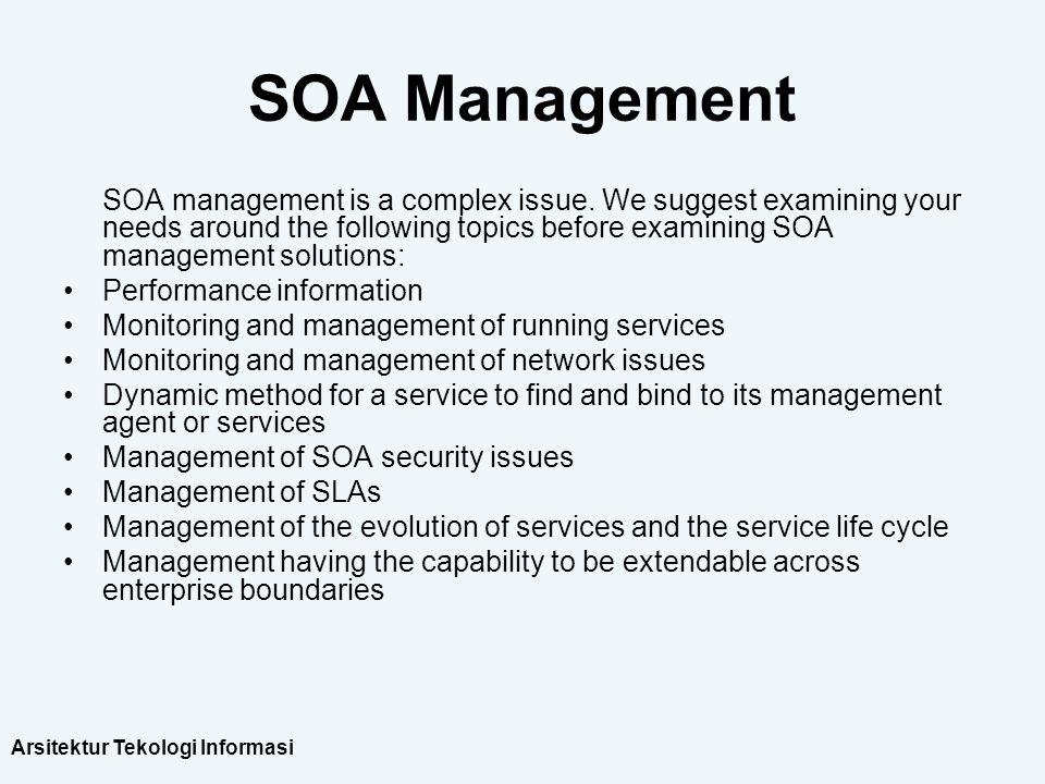 SOA Management