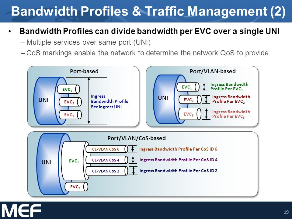 Bandwidth Profiles & Traffic Management (2)