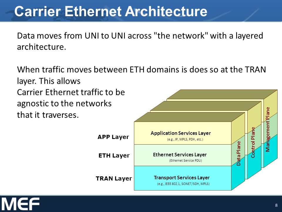 Carrier Ethernet Architecture