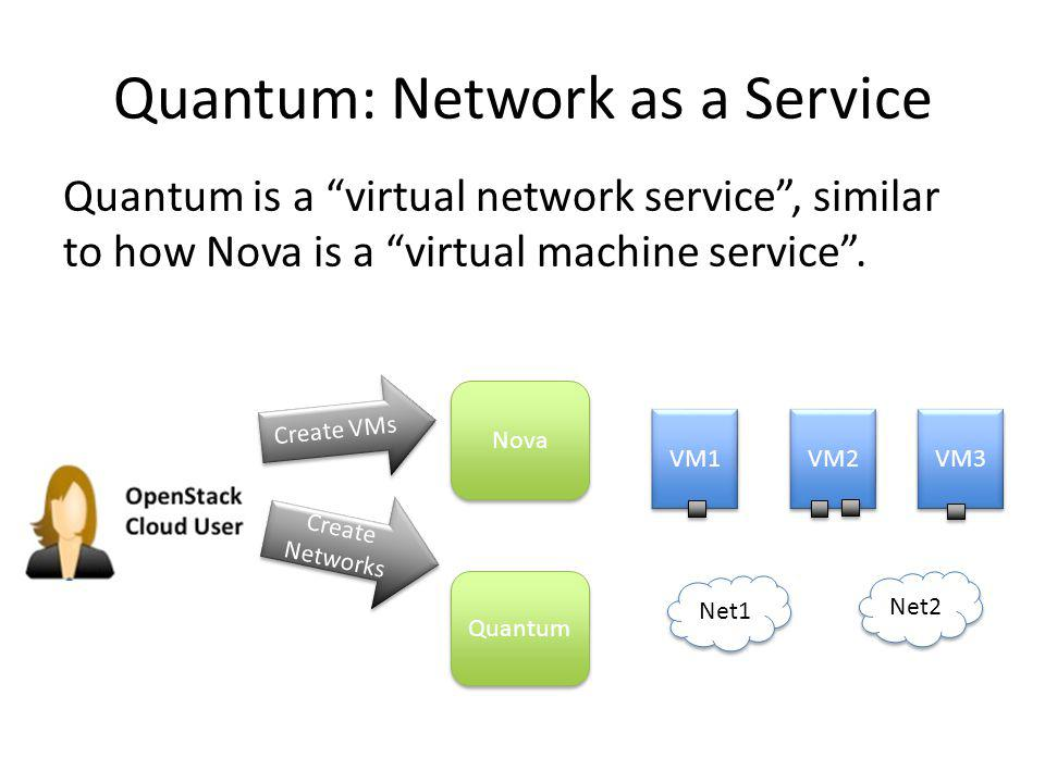 Quantum: Network as a Service