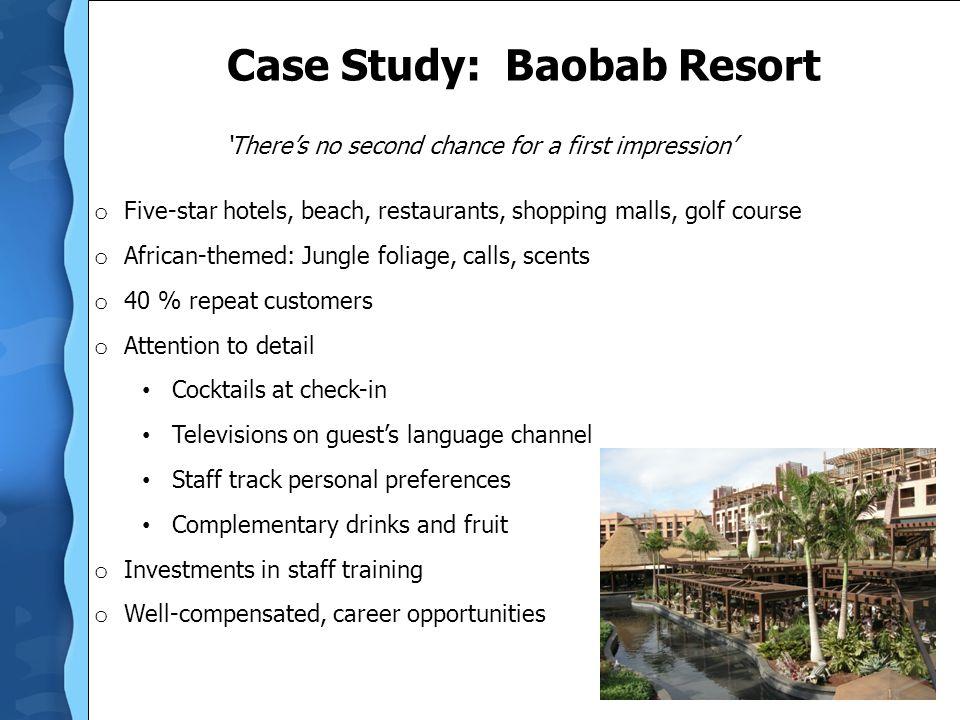 Case Study: Baobab Resort