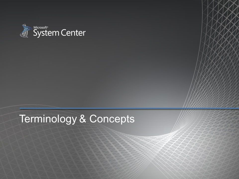 Terminology & Concepts