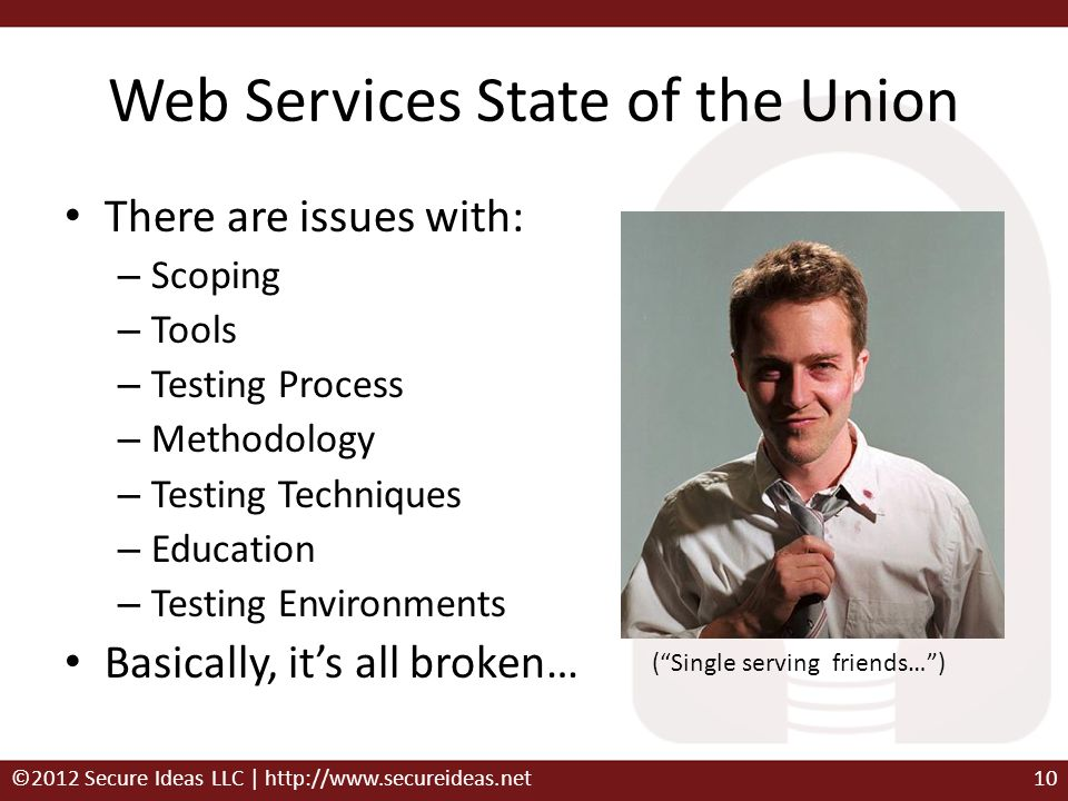 Web Services State of the Union