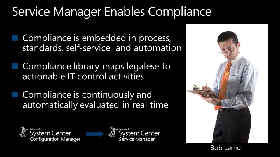 Service Manager Enables Compliance