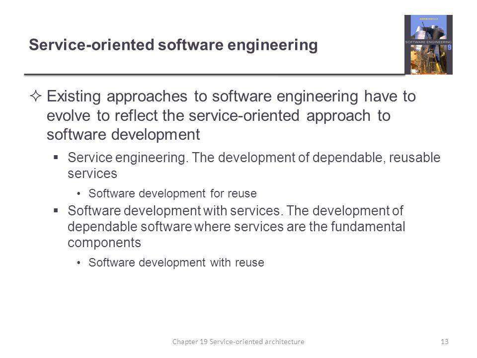Service-oriented software engineering