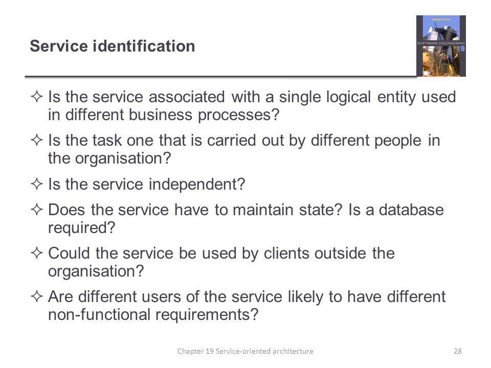 Service identification
