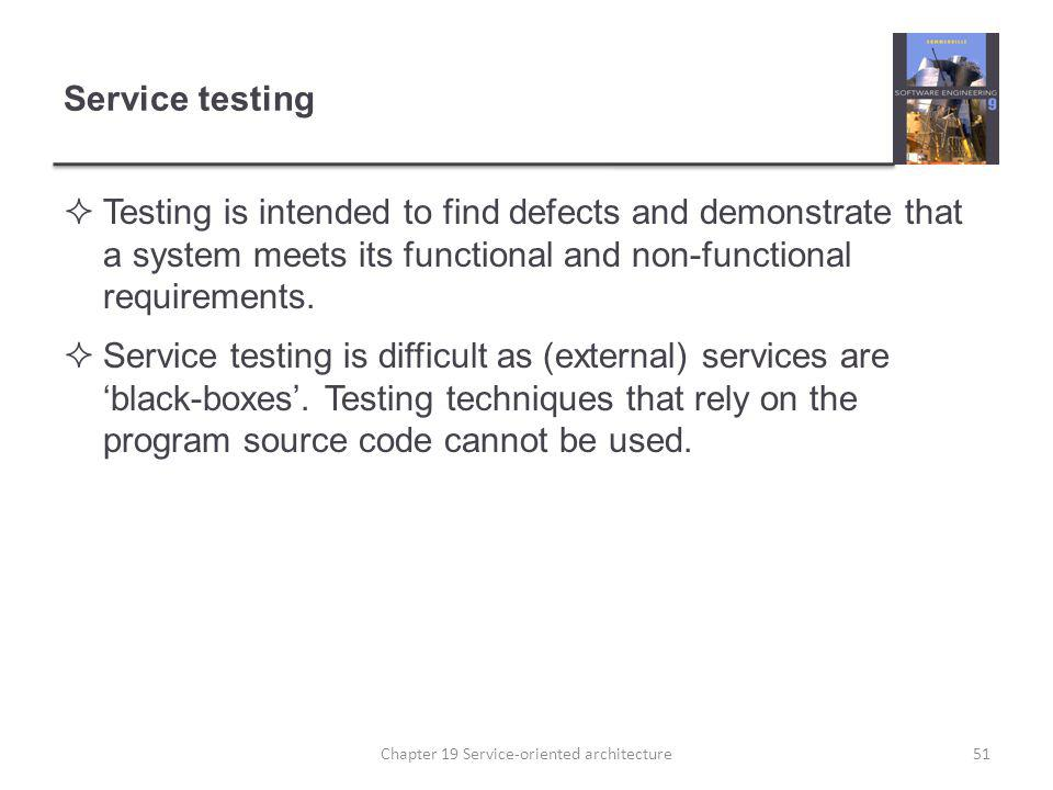 Chapter 19 Service-oriented architecture