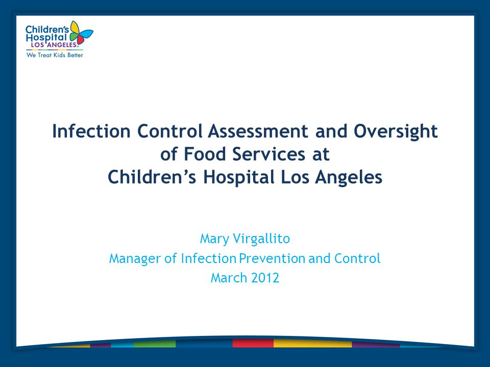Mary Virgallito Manager of Infection Prevention and Control March 2012