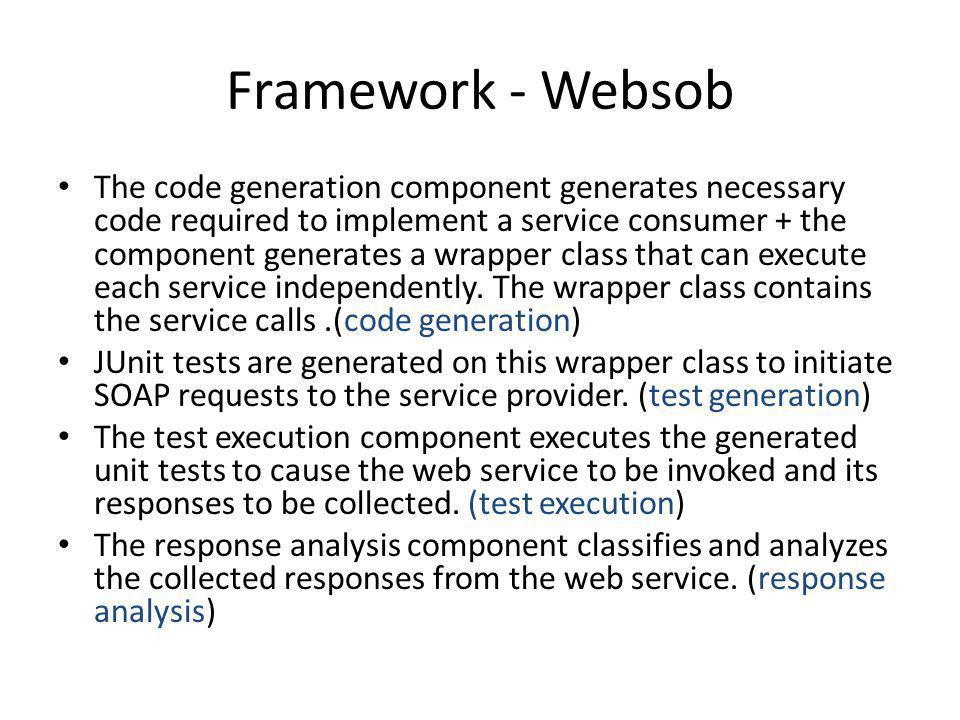 Framework - Websob