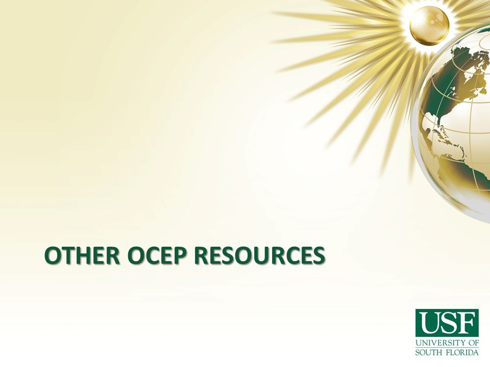 Other ocep resources