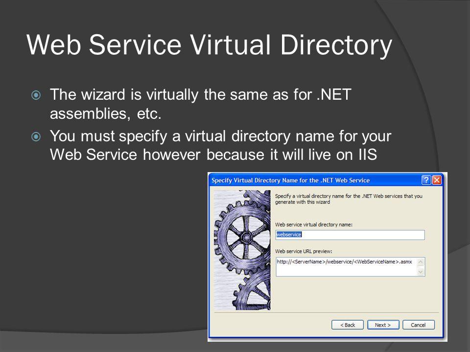 Web Service Virtual Directory
