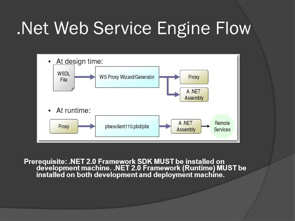 .Net Web Service Engine Flow