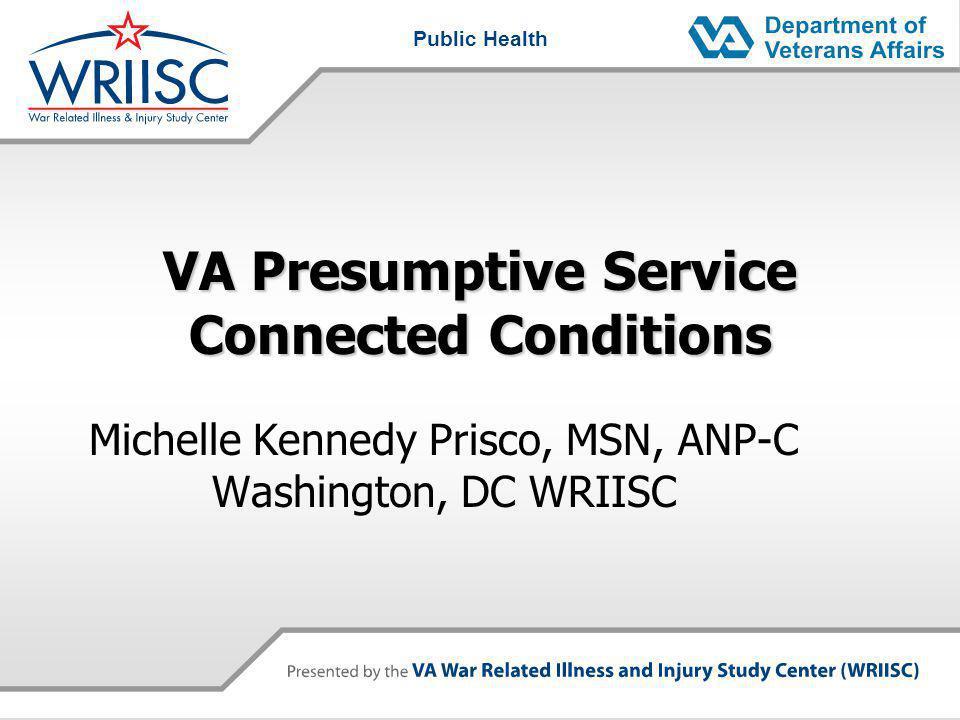 VA Presumptive Service Connected Conditions