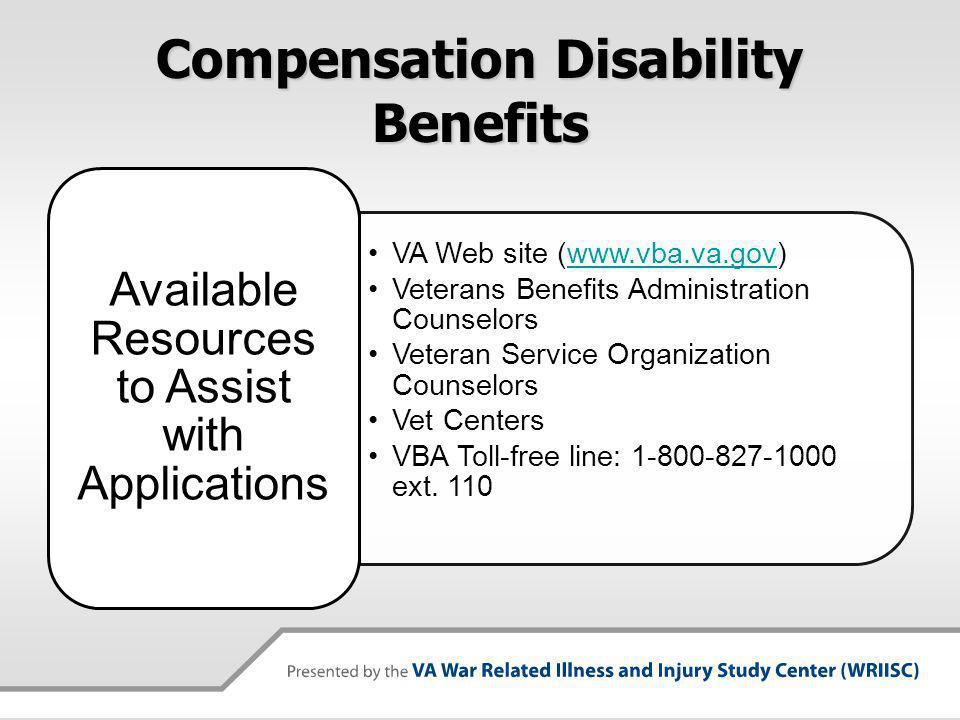 Compensation Disability Benefits